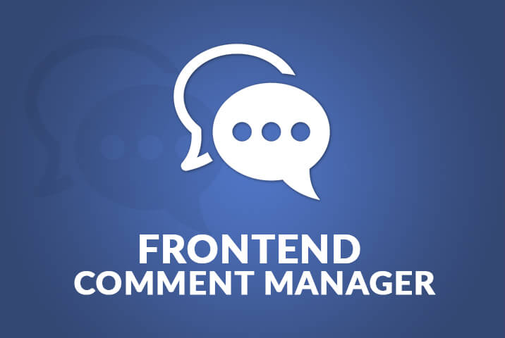 Frontend Comment Manager
