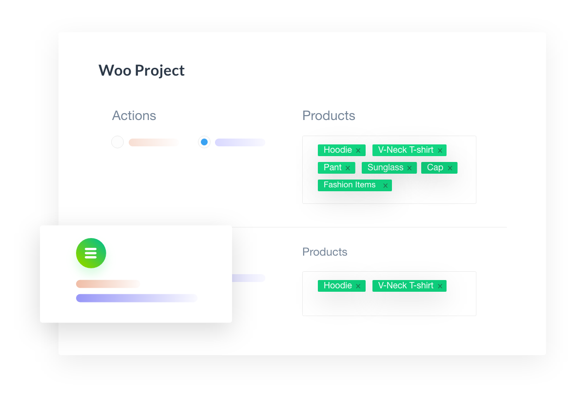 Product Category-wise Projects
