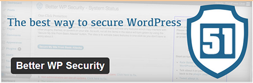 "Better WP Security – an ""all-in-one"" security plugin for WordPress"