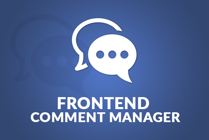 WP User Frontend – Comments Manager