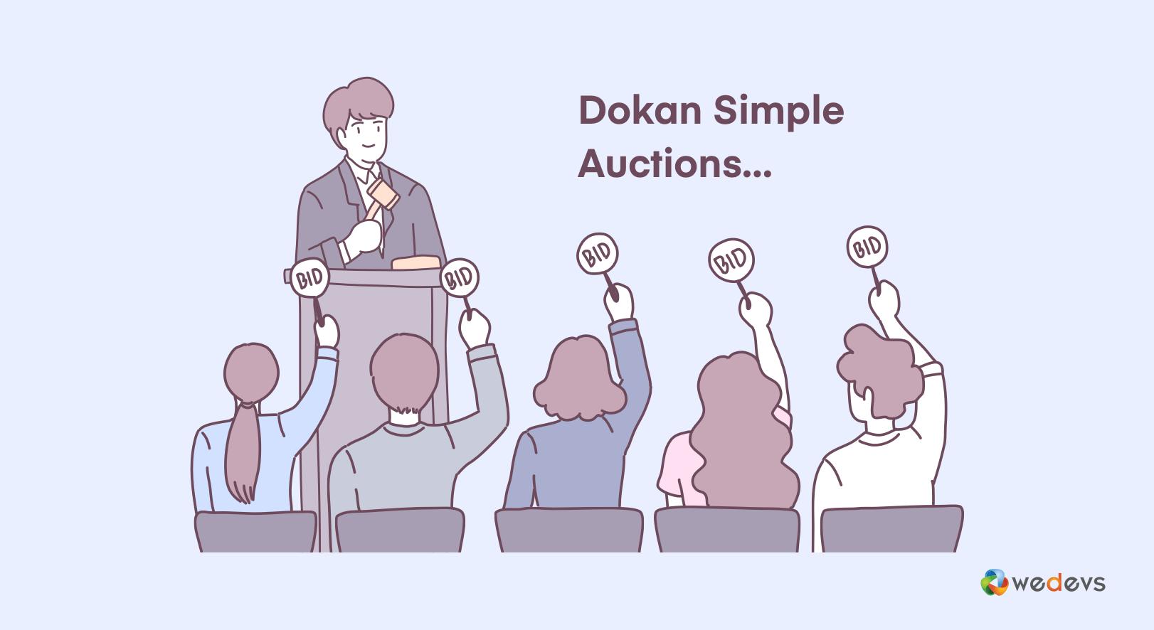 WooCommerce multi vendor auction – Coming in Dokan