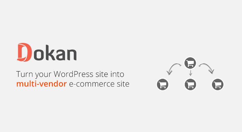Dokan free marketplace