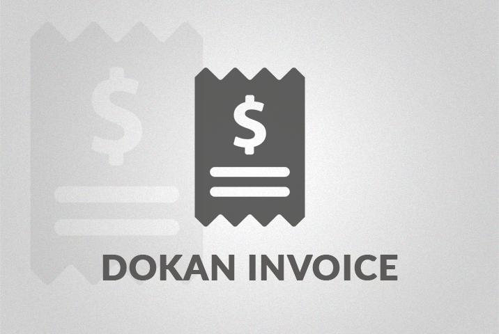 Dokan PDF Invoice