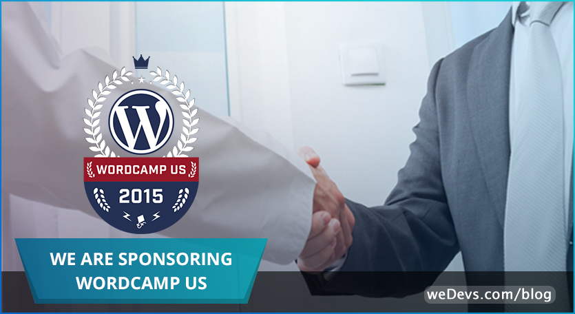 Proudly Sponsoring WordCamp US: Get Swagged