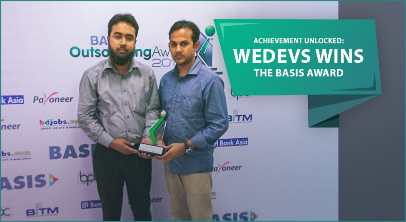 Achievement Unlocked: weDevs wins the BASIS award