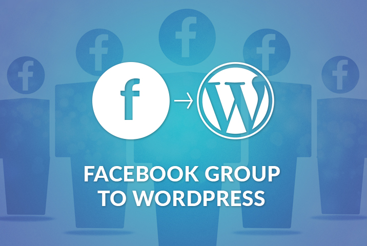 Facebook Group to WordPress