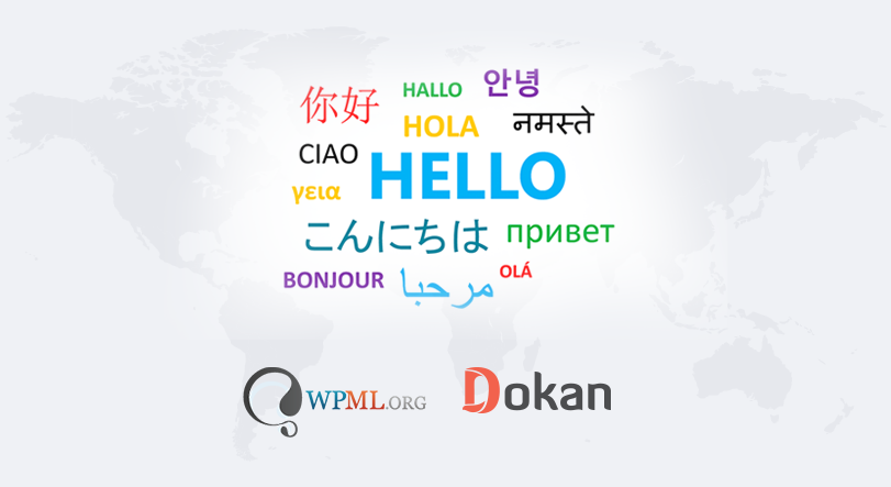 WPML Multilingual Support on Dokan Now Available!