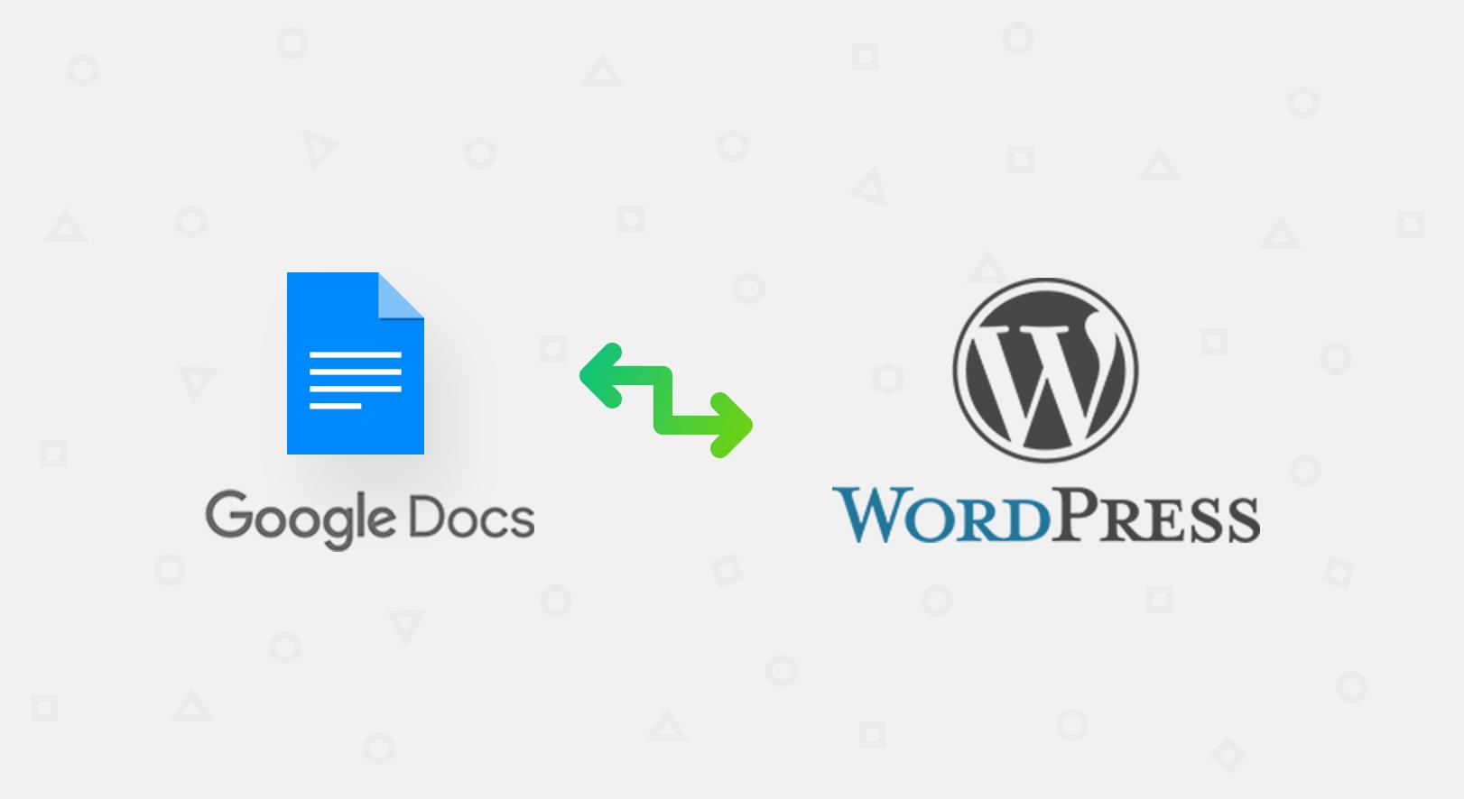 google docs wordpress