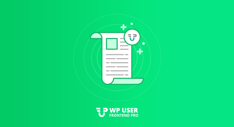Contact Form Powered by WP User Frontend
