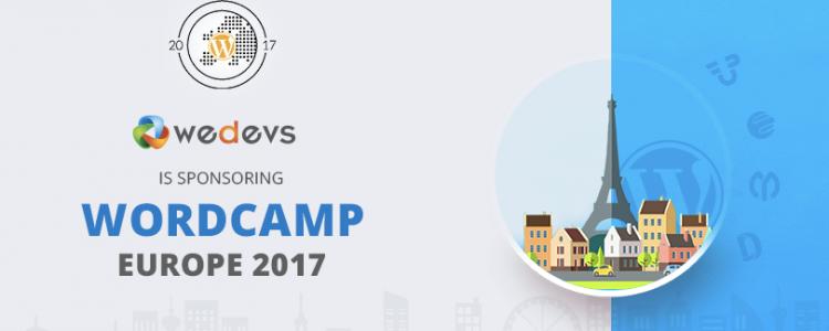 Meet weDevs at WordCamp Europe 2017 in Paris