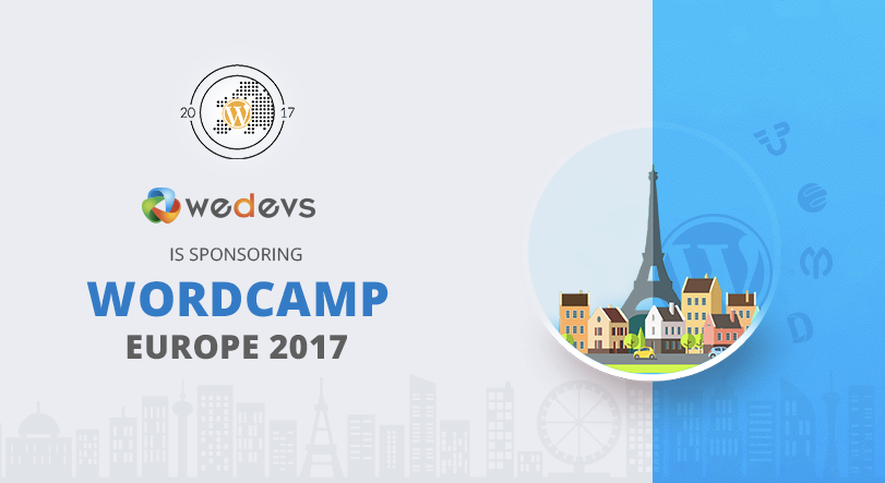 Meet weDevs at WordCamp Europe 2017 in Paris