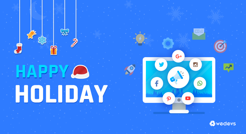 holiday marketing social media