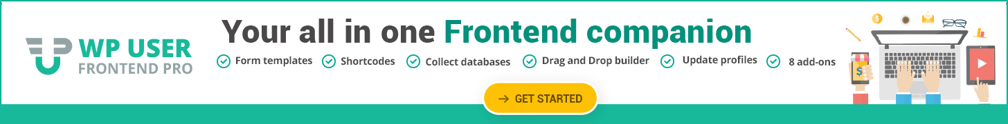 WP User Frontend Pro Offer Discount Coupon