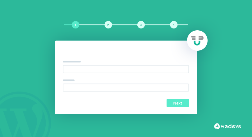 Create Multi-Step Registration Form In WordPress Without Any Coding