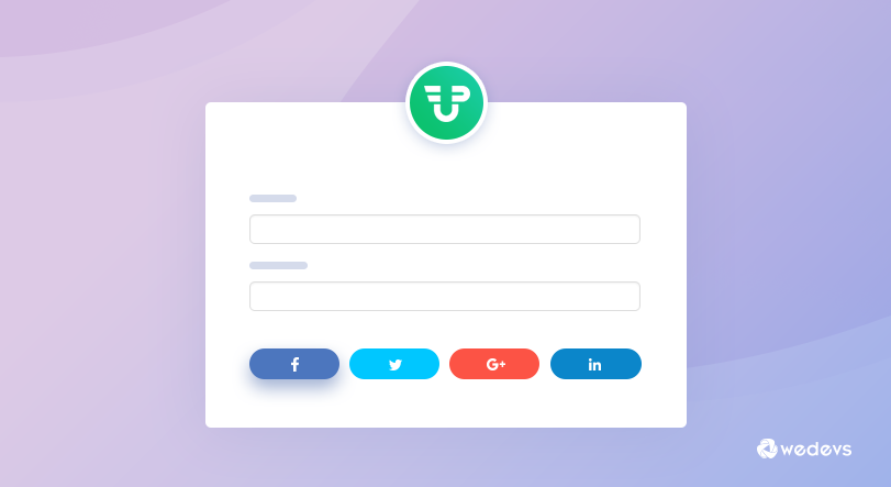 All New Social Login And Registration Feature For WP User Frontend