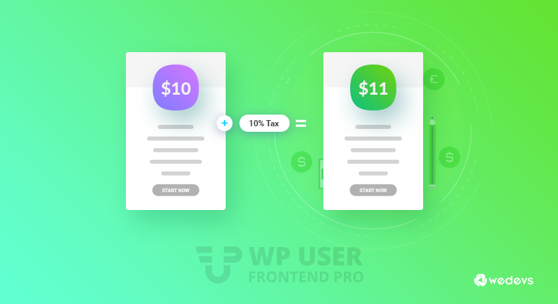 How to Set Dynamic Subscription Taxes Using WP User Frontend Pro