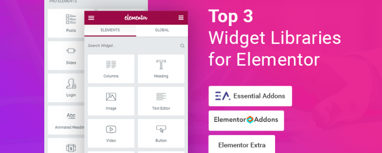 Elementor Add-ons and Widget Library Compared
