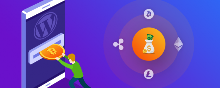 cryptocurrency payment in wordpress