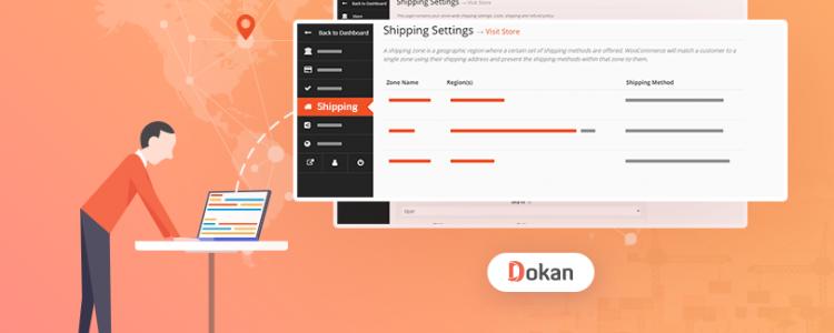 New Zone Based Vendor Shipping for Dokan Multivendor