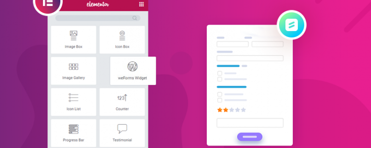 How To Easily Add weForms Widget Using Elementor