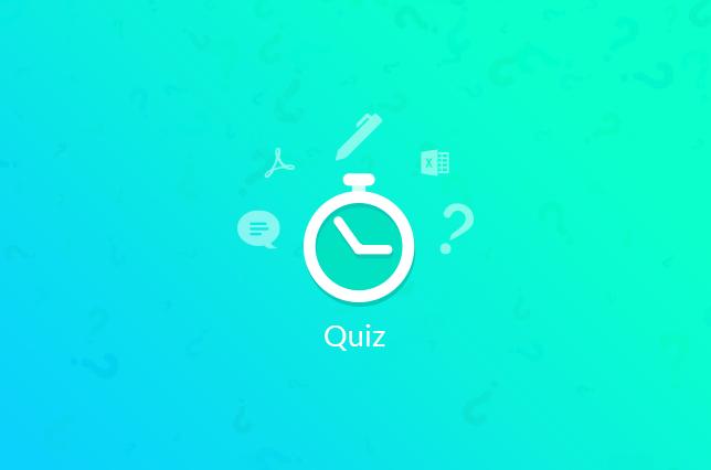 weForms Quiz