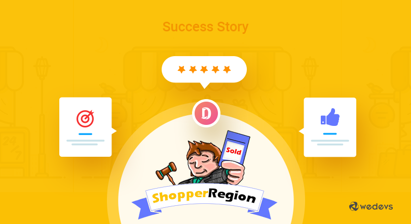 Dokan Success Story Shopper region