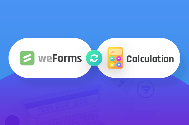 Calculation Module weForms