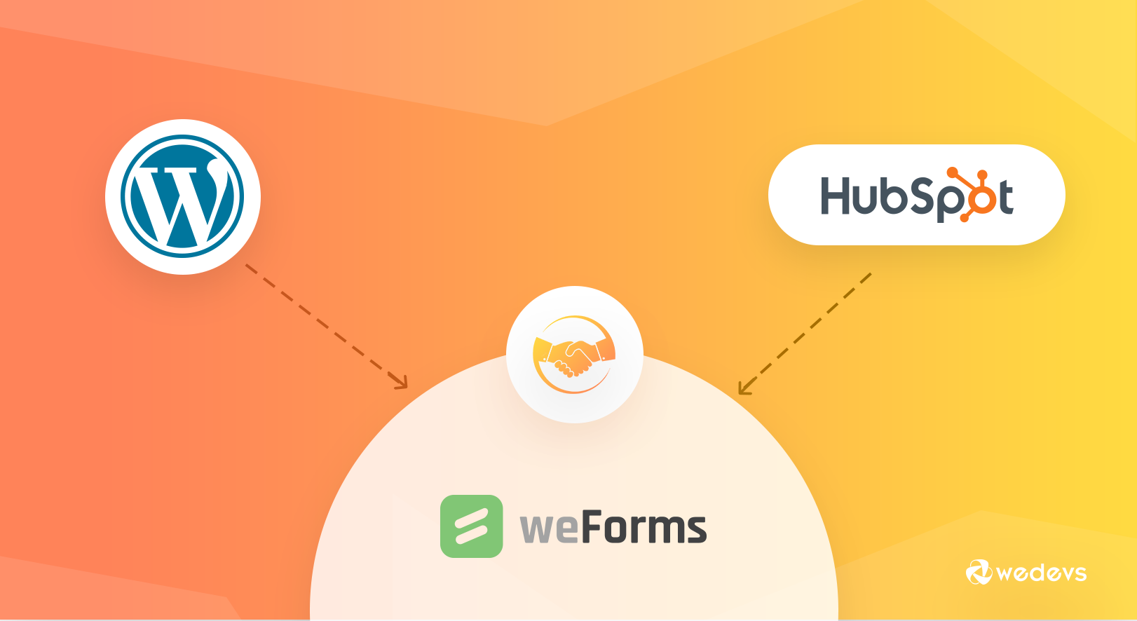 How to Connect WordPress to HubSpot CRM - weDevs