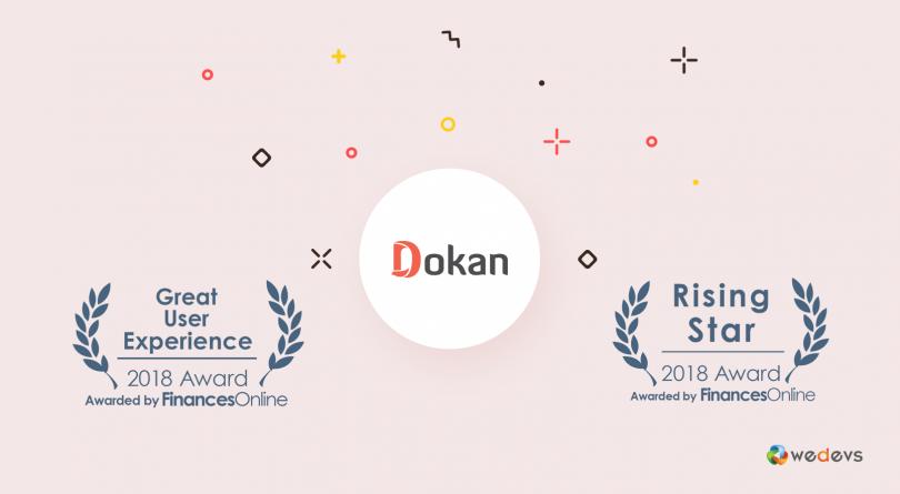 Dokan Nails Prestigious FinancesOnline Customer Satisfaction Award 2018