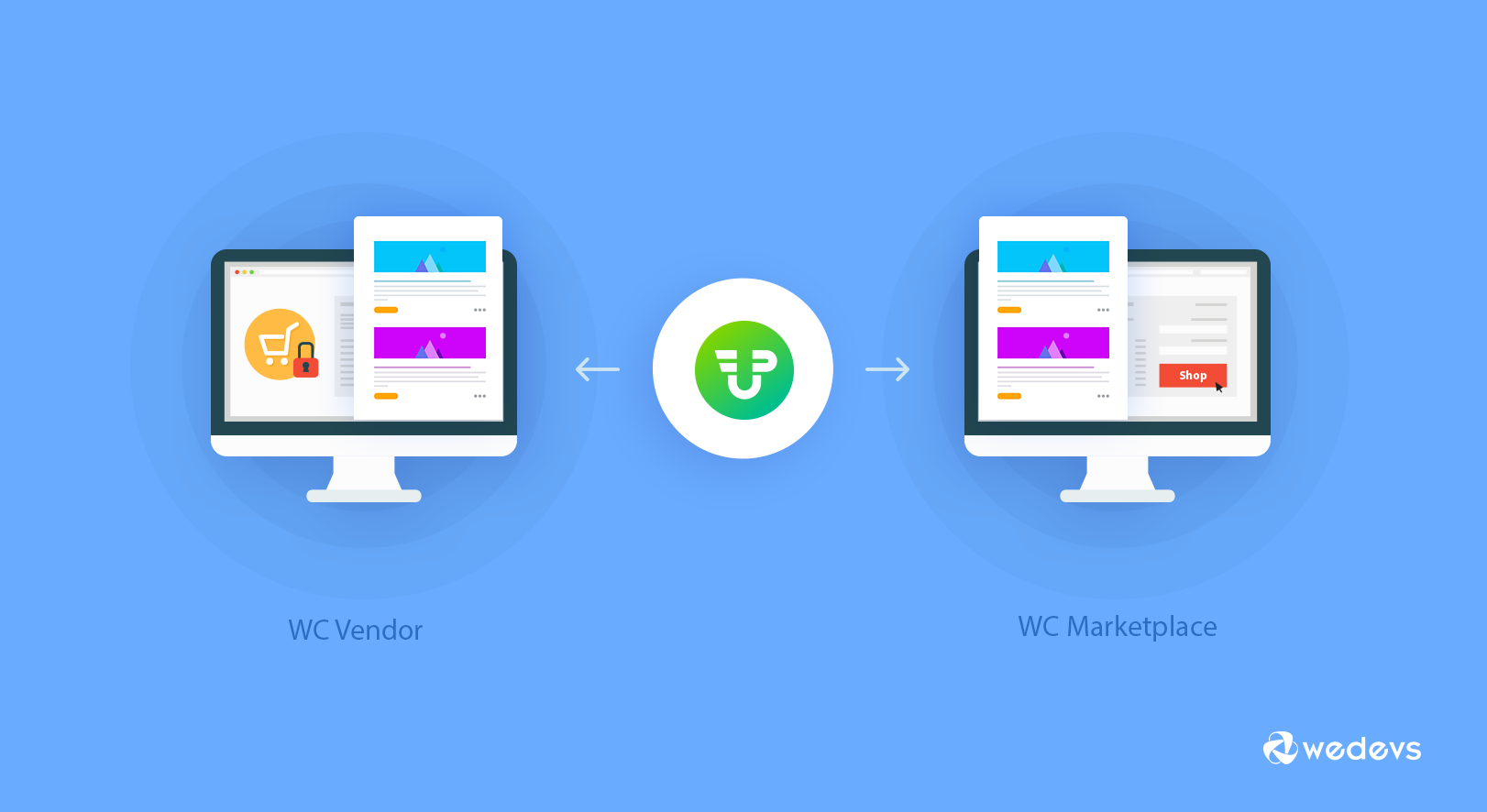 Integrate WC Vendor Marketplace or WC Marketplace with WP User Frontend