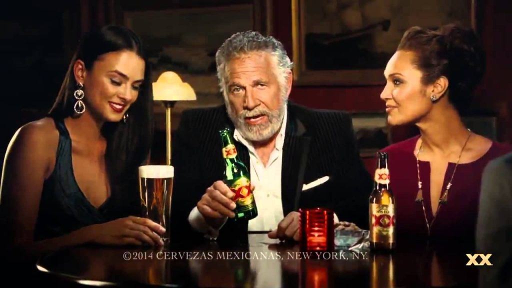Snap of Dos Equis TVC