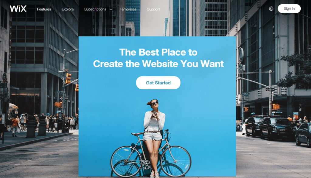 WIX- best e-commerce platform