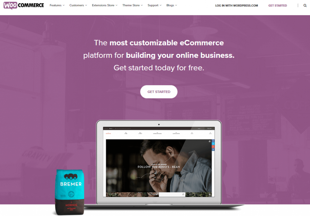 WooCommerce- best e-commerce platform