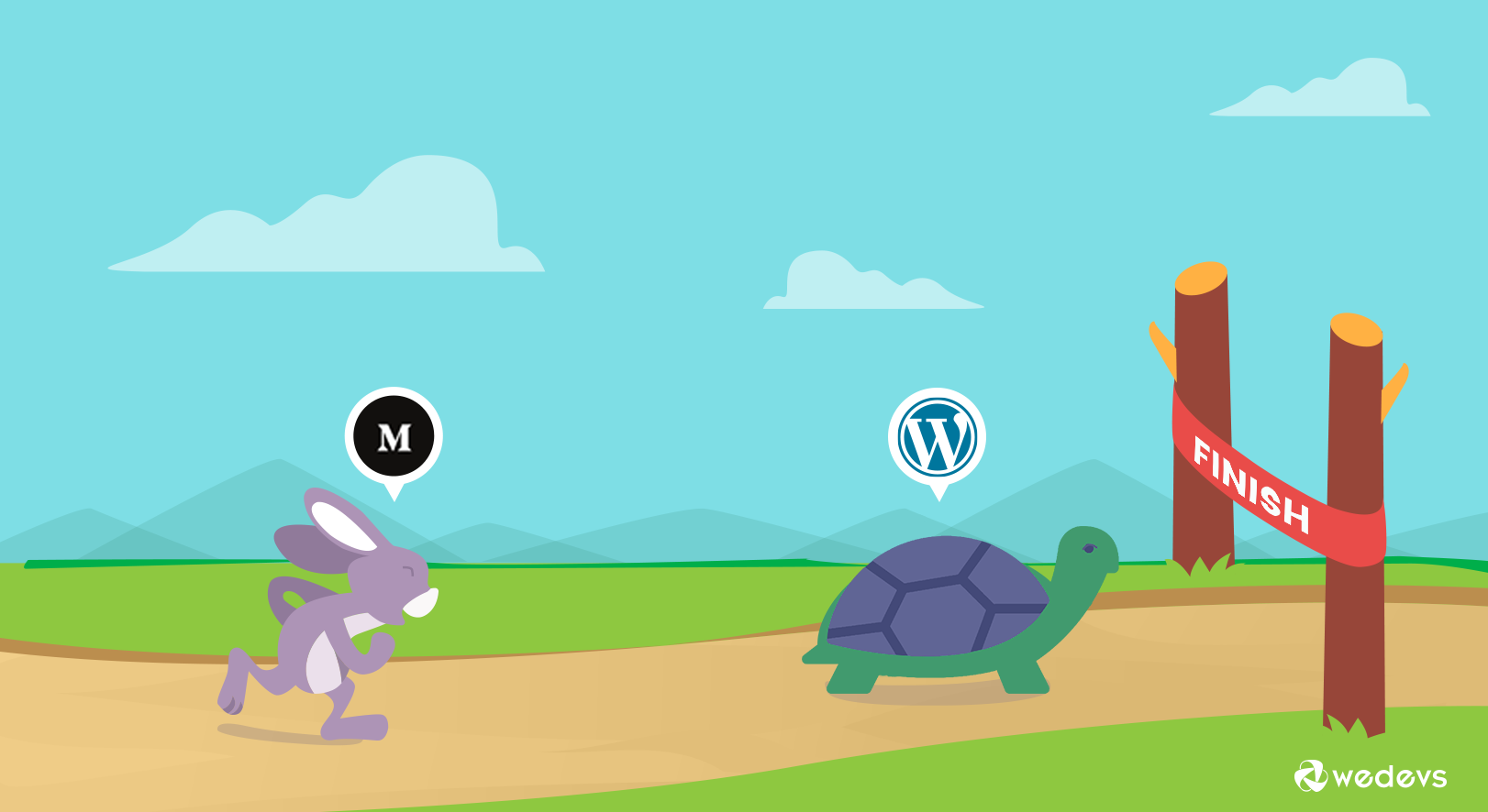 WordPress vs. Medium: Comparing Apples & Oranges?