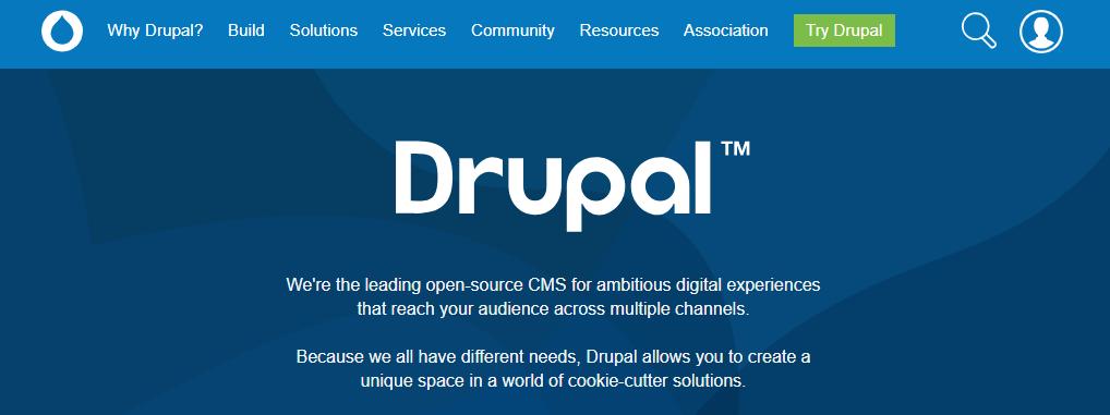 Drupal CMS - лучшая платформа CMS