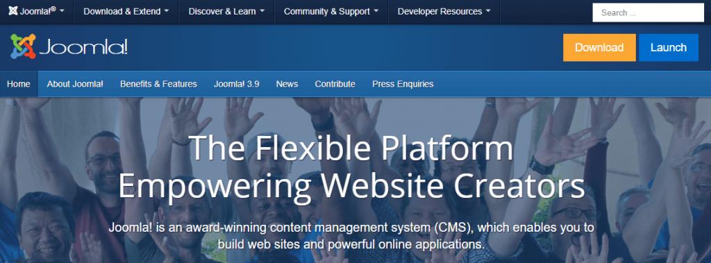 Joomla CMS- best CMS platform