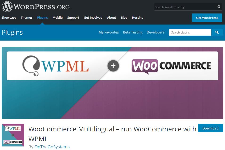 WooCommerce+WPML- WooCommerce Multilingual store