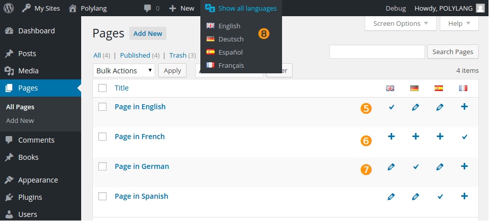 polylang set up- Woocommerce Multilingual marketplace