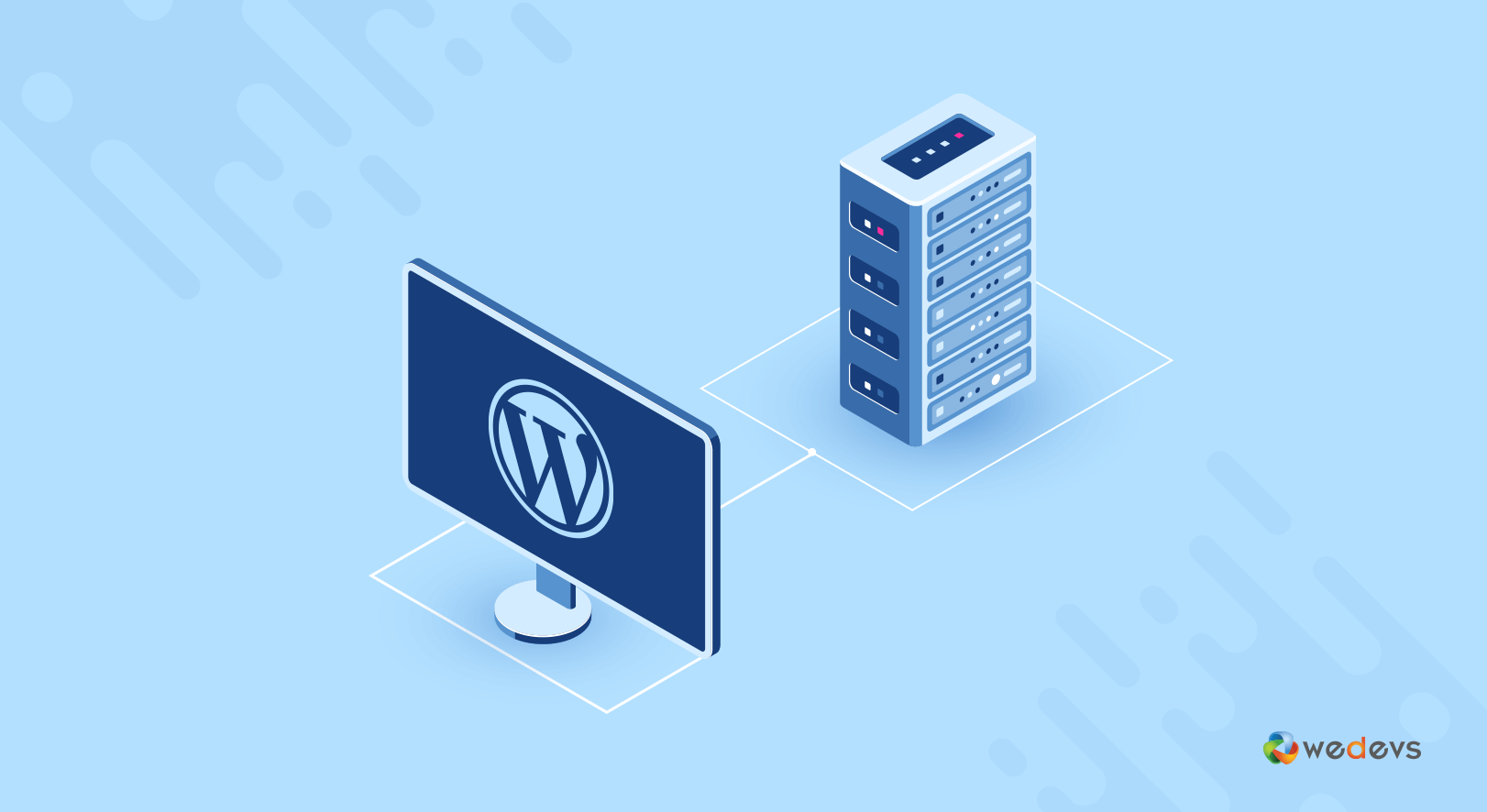 domain and hosting can be the reason of WordPress website not displaying correctly