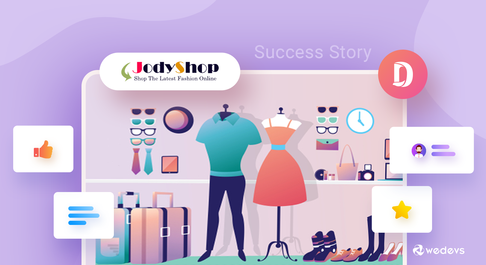 An Incredible E-commerce Success Story of a Fashion House Marketplace 'JodyShop'
