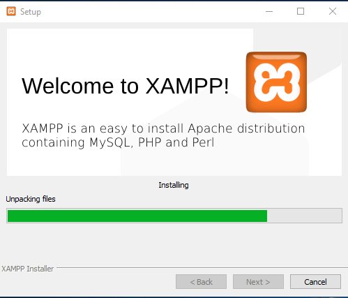Welcome to XAMPP