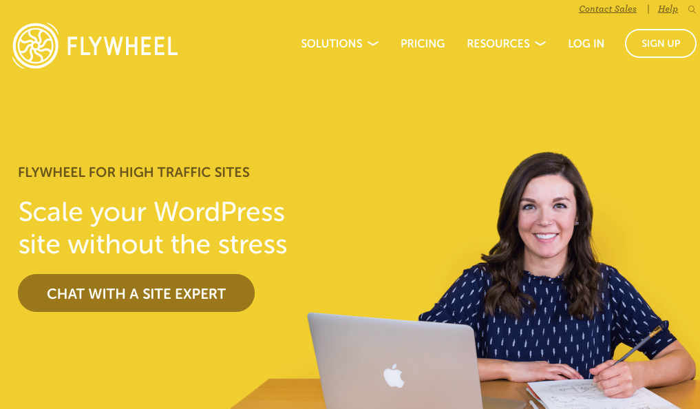 FlyWheel WordPress hosting- wordpress hosting comparison