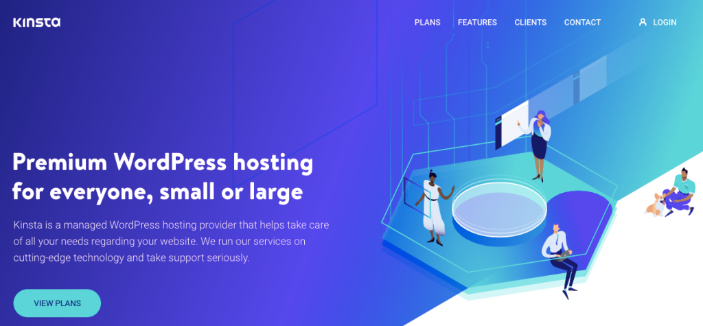 WordPress Hosting Kinsta- wordpress hosting comparison