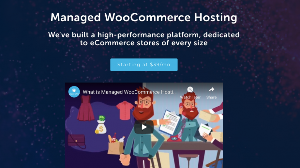 Liquidweb WooCommerce hosting- wordpress hosting comparison