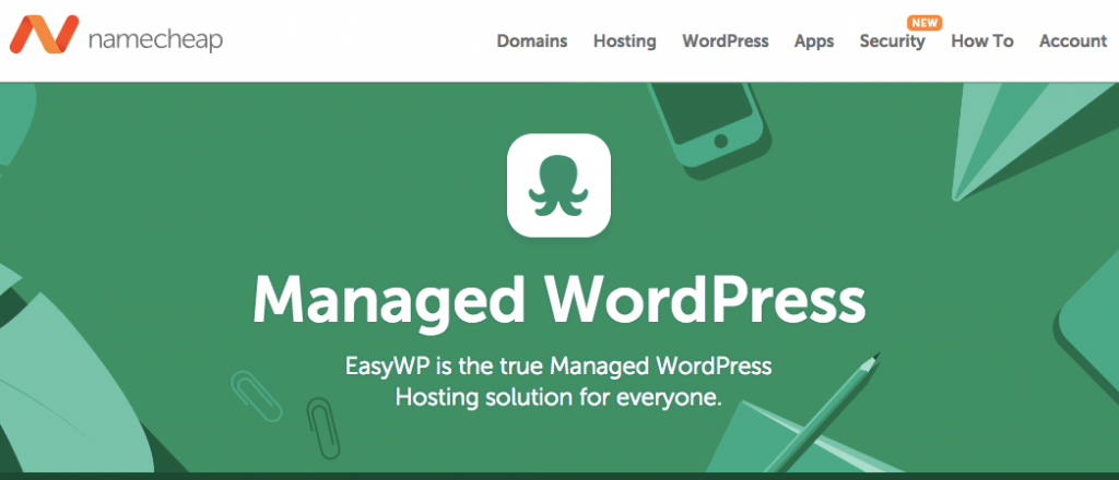 Namecheap WordPress hosting- wordpress hosting comparison