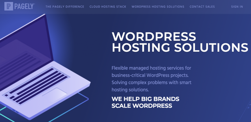Pagely WooCommerce Hosting- wordpress hosting comparison