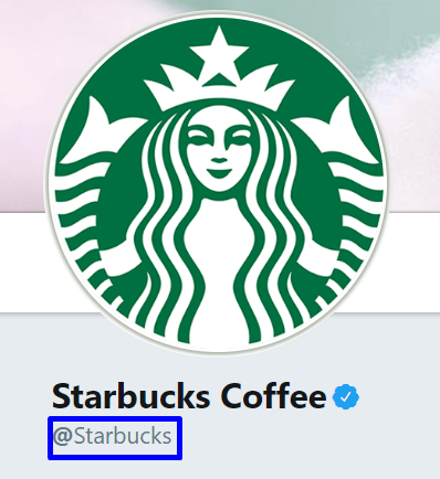 Starbucks Coffee Twitter account