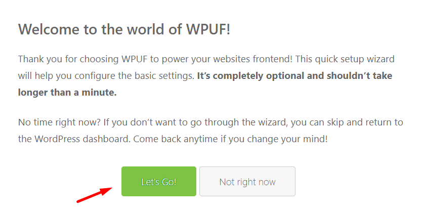WPUF- best WordPress registration plugin