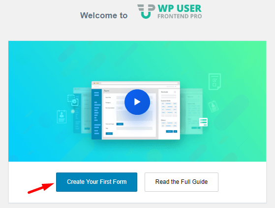WordPress user registration plugin frontend