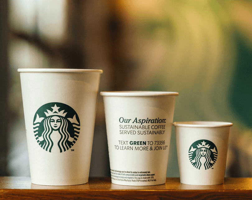 Retargeting campaign example- starbucks